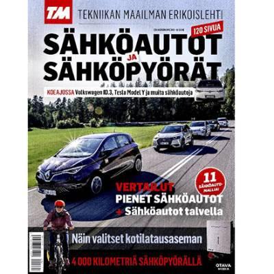 Tekniikan Maailma: Sähköautot ja sähköpyörät -erikoislehti
